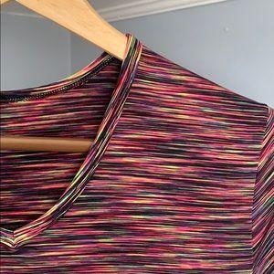 Shirts - Men's Woven Casual Short Sleeve V-Neck